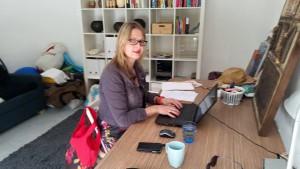 Ingrid Smit schrijft op Mallorca