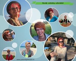 Jolanda Pikkaart de kleurrijke schrijfcoach. Kleurrijk - Authenticiteit - Verbinding