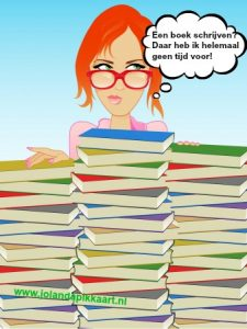 Een boek schrijven? Daar heb ik helemaal geen tijd voor