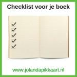 Checklist voor je boek