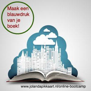 Maak een blauwdruk van je boek