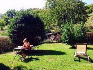 Schrijven in Toscane