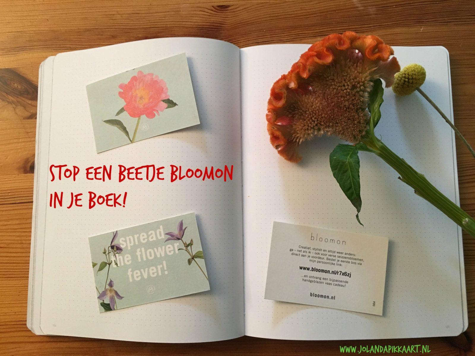 Hoe Je Een Beetje Bloomon In Je Boek Stopt En Je Lezers