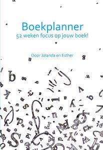 Cover Boekplanner 52 weken focus op je boek