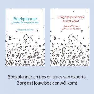 Boekplanner: 52 weken focus bij je boek
