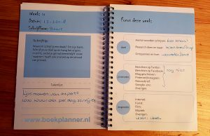 Focus deze week in de boekplanner
