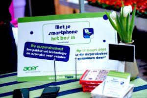 Boekpresentatie Met je smartphone het bos in
