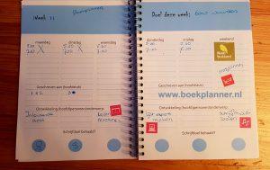Schrijven is schrappen reserveer tijd in je Boekplanner