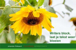 writers block schrijfinspiratie
