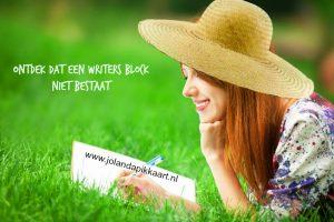 Lanterfanten: ontdek dat ene writers block niet bestaat