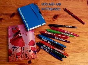 Schrijfschriftjes: Verslaafd aan mooie notitieboekjes