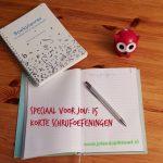 Speciaal voor jou: 15 korte schrijfoefeningen