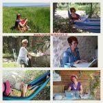 Ga op schrijfvakantie in je eigen tuin of op balkon