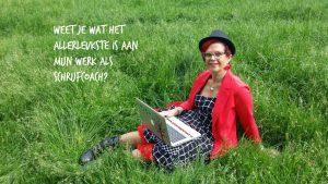 Weet je wat het allerleukste is aan mijn werk als schrijfcoach?