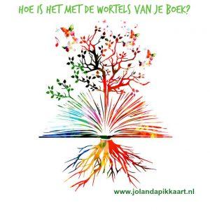 Hoe is het met de wortels van jouw boek?