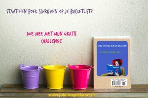 Boek schrijven bucketlist
