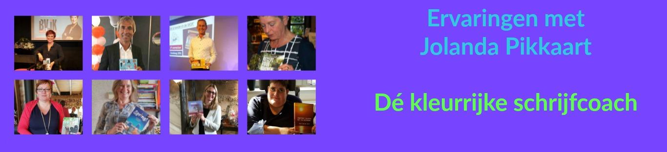 Header Ervaringen met schrijfcoach Jolanda Pikkaart
