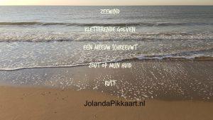 Schrijfoefening: schrijf een elfje - Zeewind