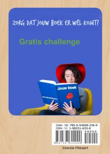 Gratis challenge Zorg dat jouw boek er wel komt