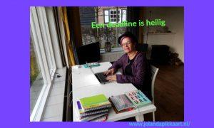 Boek schrijven? Een deadline is heilig