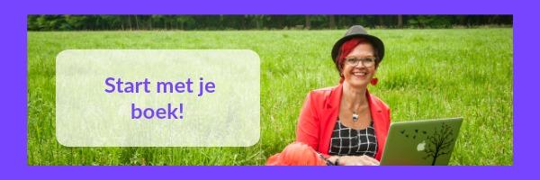 Header gratis online training Start met je boek