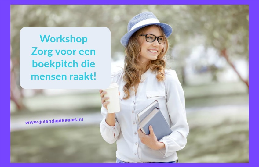 Workshop: Zorg voor een boekpitch die mensen raakt