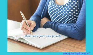 Een nieuw jaar voor je boek