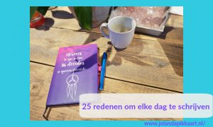 25 redenen om elke dag te schrijven