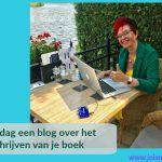 Elke dag een blog over het schrijven van je boek