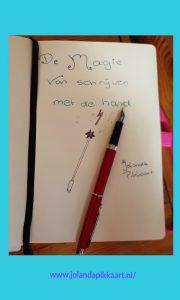 De magie van schrijven met de hand