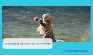 Jouw boek als steen in het water