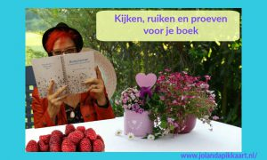 Kijken, ruiken en proeven voor je boek...