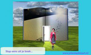 Stap eens uit je boek