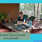 Wat doen rust en ruimte voor je boek?