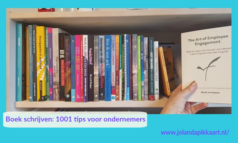 Boek schrijven tips, 1001 tips voor ondernemers