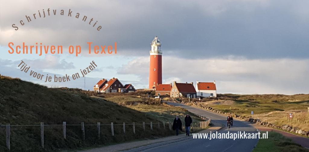 Schrijfvakantie schrijven op Texel schrijfweek